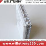 L'aluminium panneau alvéolé pour revêtement de mur extérieur de l'architecture les panneaux de signalisation de plafond de la canopée des Façades Façades Ventilées