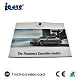 '' folleto video del LCD de la pantalla táctil 7.0 para la publicidad de Porsche Company