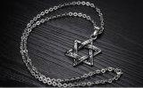 De uitstekende Tegenhangers van de Halsbanden van het Roestvrij staal van de Ster voor Vrije Keten van de Juwelen van de Partij van Mensen Retro
