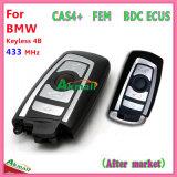O mercado de câmbios Keyless Bdc ECU de CAS4+ modificou a chave esperta com 4 teclas Fsk 433MHz