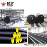 дренаж стальной полосы HDPE 300mm усиленный спиральн Corrugated стекает прочь трубу