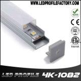 4108 LEDのストリップのための表面の台紙のキャビネットLEDのアルミニウムプロフィール