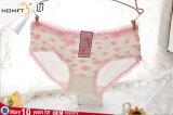Mignon Daisy mis à jour de la conception de sous-vêtements de coton jeune fille portant des culottes