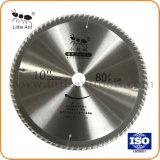 """10"""" 80t la circulaire d'outils du matériel du disque de coupe en carbure de TCT la lame de scie bois et aluminium"""