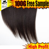 Frontal 13*3lace brésilien avec 100 pour cent de cheveu de Vierge