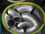 Codo perfecta de acero inoxidable Dúplex A815 UNS S31803 /1.4462 accesorios de tubería codo