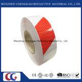 Les couleurs rouge/blanc Double bande Bande réfléchissante de conception d'avertissement (C3500-S)