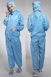 Revers-Muffen-Polyester-Gewebe ESD-Arbeitskleidung