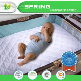Bambusterry-Tuch-wasserdichte Baby-Krippe-Matratze-Auflage
