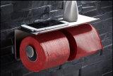Houder 8821 van het Toiletpapier van de Toebehoren van de Badkamers van de Houder van de Closetrol van het Roestvrij staal van Inox Dubbele