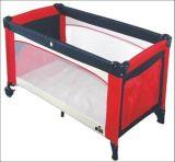 ヨーロッパ規格の安い赤ん坊のベビーサークル旅行折畳み式ベッドの赤ん坊のまぐさ桶のベビーベッド