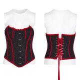 Palo rojo sangriento mágico de la cinta Y-779 que modela el corsé gótico atractivo para el palo rojo sangriento mágico de la cinta de las muchachas que modela el corsé gótico atractivo para las muchachas