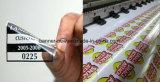 Etiqueta impressa do vinil dos decalques do indicador película feita sob encomenda