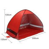 آليّة [كمب تنت] يفرقع سفينة من [رو] شاطئ خيمة 2 أشخاص خيمة فوقيّة فوق مفتوح مضادّة [أوف] ظلة خيمة [سونشلتر] خارجيّة