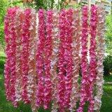 Wand-hängender Garten-im Freien Privatleben-Bildschirm-dekorativer Zaun-künstliche Reben