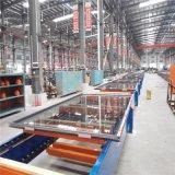 El polvo de la marca de fábrica de Weiye cubrió el perfil de aluminio aislado calor de la rotura de Brige para la ventana de desplazamiento con 6063-T5