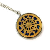 模造ギフトの方法宝石類のステンレス鋼のネックレスの宝石類