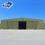 Hangar estrutural de aço do helicóptero da grande extensão com certificação do Ce
