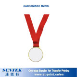 Металлические украшения Сублимация пустым золотая медаль