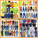 Usura protettiva del lavoro, vestiti da lavoro di nylon della costruzione, vestiti da lavoro a prova di fuoco di alta visibilità