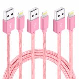 Trenzado Nylon Original Cable de carga de datos USB