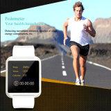 最もよい品質の移動式腕時計はBluetoothの人間の特徴をもつスマートな腕時計U8に電話をかける