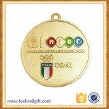 Medalla de plata de oro de la concesión del funcionamiento del maratón del precio de encargo de Factary