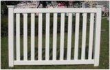 아름다운 야드 PVC 말뚝 울타리