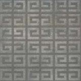 Azulejo de suelo esmaltado rústico de la porcelana del patín anti gris oscuro 60X60