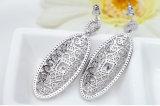 925女性のための銀製の方法宝石類はイヤリングをぶら下げる