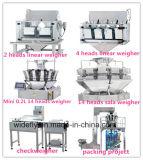 Pesador automático da combinação do alimento de animal de estimação para a máquina de embalagem
