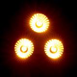 Rasha 최신 판매 5in1 Rgbaw LED PAR38는 디스코 당 사건을%s 3*15W 단계 LED 동위 빛 DMX 단계 점화 할 수 있다