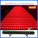 Iluminação do evento da arruela da parede da luz 18*10W RGBW do redutor do pixel do diodo emissor de luz