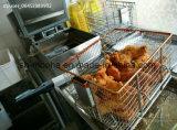 Pollo frito maquina freidora de presión