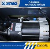 XCMGの公式の製造業者5のトン4 - 2段階3mのマストが付いている車輪の電気フォークリフト