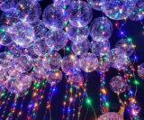 La coutume de haute qualité ballon transparent en PVC LED clignotante