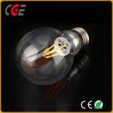 Iluminación LED E27 4W/6W60 Edison un filamento de oro/plata de la luz de lámpara LED Bombillas LED