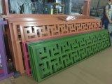Gravé mur décoratif CNC aluminium sculpté du panneau de l'écran