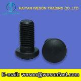 Pente noire de boulons et de noix 8.8 de transport de traitement extérieur