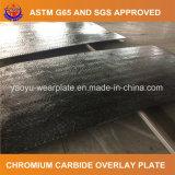 Plaque résistante à l'usure bimétallique de carbure de chrome
