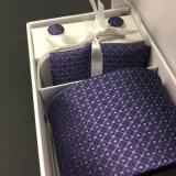 卸売100%の絹の編まれた首のタイセット