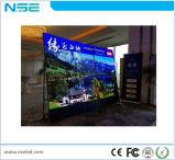 stand sec d'étage de 3mm annonçant l'affiche visuelle d'intérieur de DEL pour des systèmes