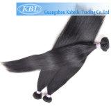 Droit naturel noir de jais brésilien de Tissage de cheveux