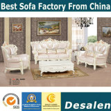 precio de fábrica diseño de interiores estilo real sofá de tela (190#)