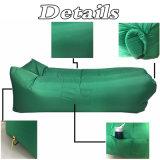 Loungerナイロンファブリック浜のLoungerのたまり場の速く膨脹可能な空気ソファー