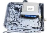 Cassette van de Splitser van de Vezel van de Doos van de Splitser van Lgx van Sc/APC 1X8 de Optische