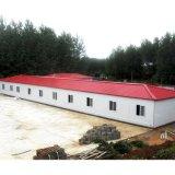 휴가 동안 Prefabricated 가벼운 강철 구조물 집