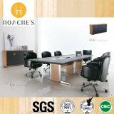 家庭内オフィスの家具PVC革表(E3)