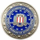 Moeda feita sob encomenda da lembrança da estrela da honra do agente da segurança da polícia do metal (XD-0706-13)
