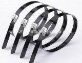 Кабельные стяжки для тяжелого режима работы с покрытием из ПВХ производителя стальных кабельные стяжки